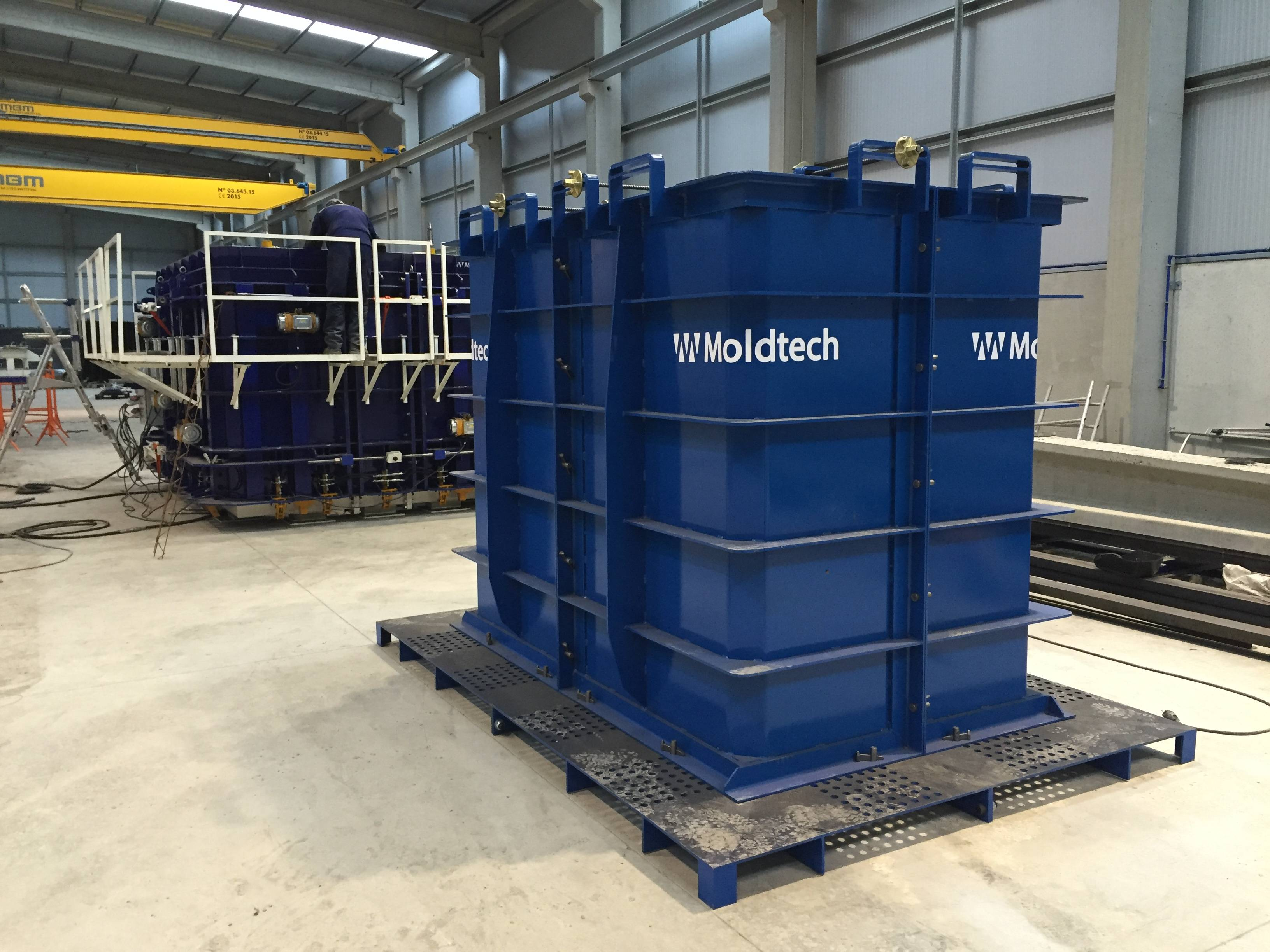 marcos modulares wet cast